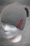 "Beanie ""Red Label"" grau"